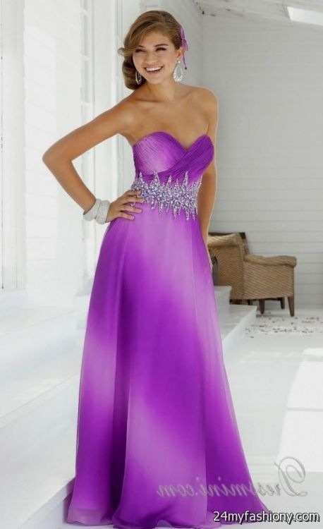 light purple prom dresses with straps 2016-2017 | B2B Fashion