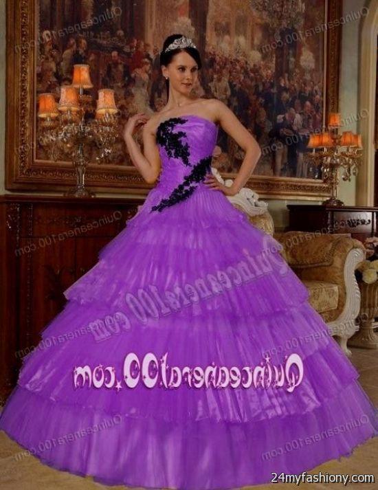light purple puffy quinceanera dresses 2016-2017 | B2B Fashion