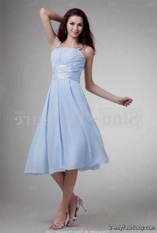 Sky Blue Formal Dresses