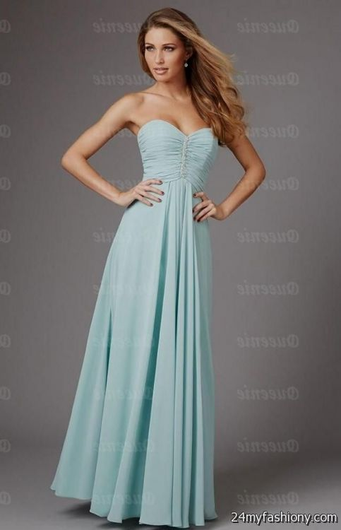Light Teal Bridesmaid Dresses With Sleeves Looks B2b Fashion