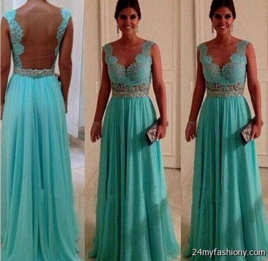 Light Teal Lace Bridesmaid Dresses Looks B2b Fashion