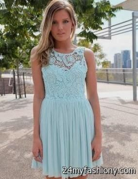 light teal lace dresses 2016-2017 » B2B Fashion