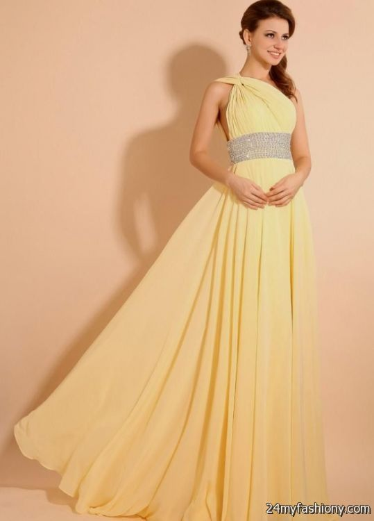 Yellow Bridesmaids Dresses With Sleeves - Wedding Dress Ideas