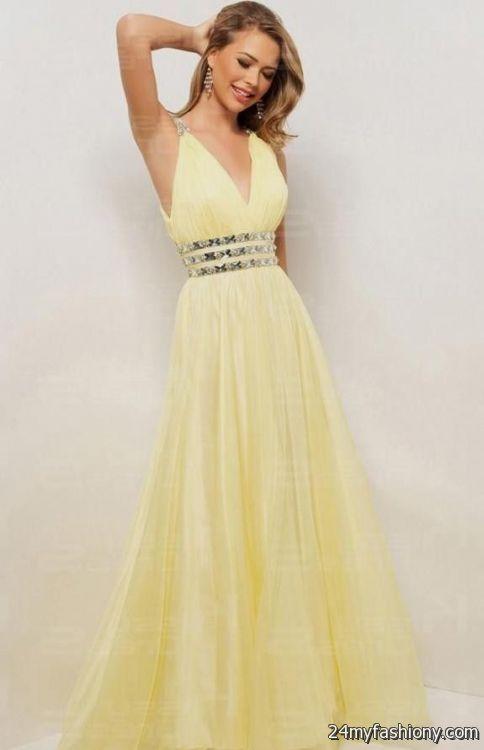 light yellow prom dress 2016-2017 » B2B Fashion