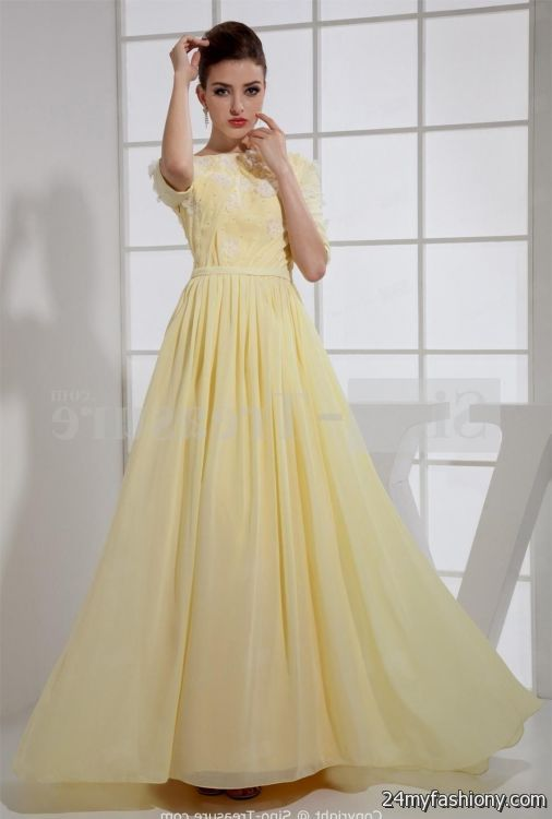 Light blue prom dresses with sleeves