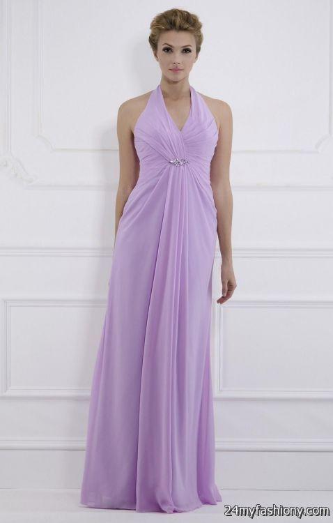 lilac halter bridesmaid dresses 2016-2017 » B2B Fashion
