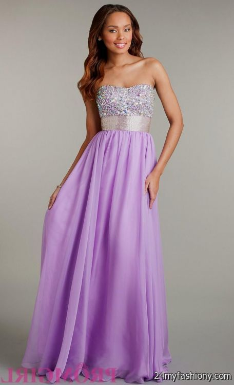 Pics For > Lilac Prom Dress
