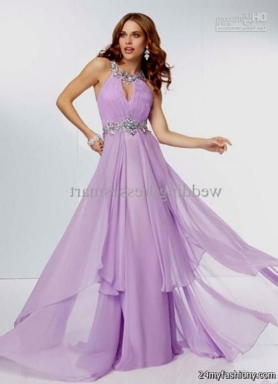 Plus size lilac lace dress