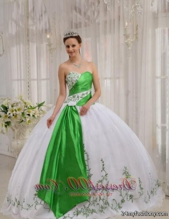 lime green and white quinceanera dresses 2016-2017 | B2B ...
