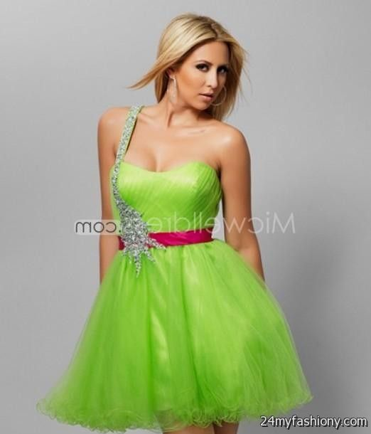 Lime Green Party Dress - Ocodea.com