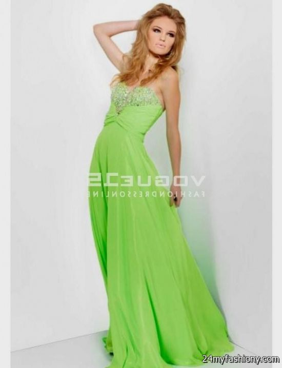 lime green prom dresses 2016-2017 » B2B Fashion