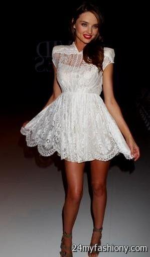 Little White Dress Tumblr 2016 2017 B2b Fashion