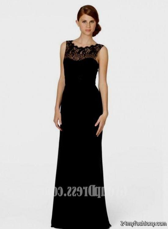 long black bridesmaid dresses 2016-2017 | B2B Fashion