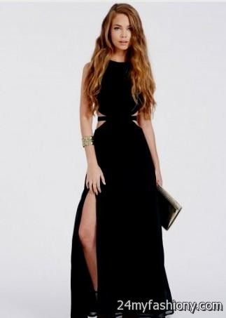 Black Long Formal Dresses Tumblr