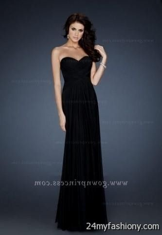 Long Black Dress | Black Party Dresses