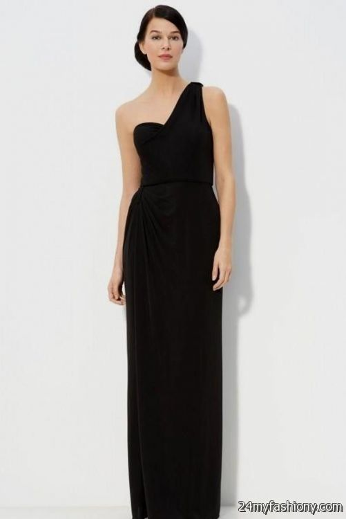 Affordable Junior Prom Graduation Plus Size Formal Dresses You Can Share These Long Black One Shoulder Bridesmaid
