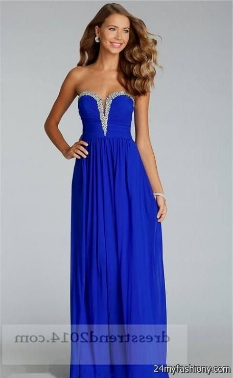 Long Blue Formal Dresses For Juniors 2016 2017 B2b Fashion
