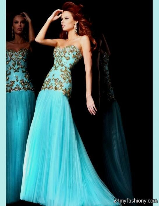 Long Blue Prom Dresses Under 100 Dollars 2016 2017 B2b Fashion