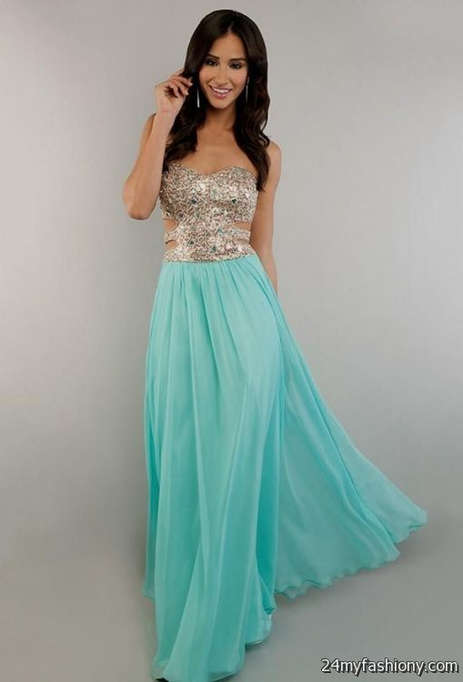 Long Blue Prom Dresses Under 100 Dollars 2016 2017 B2b Fashion