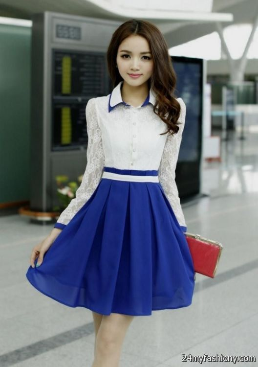 Images of Long Casual Dresses With Sleeves - Reikian