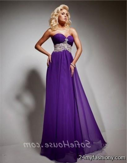 long dark purple prom dresses 2016-2017 » B2B Fashion