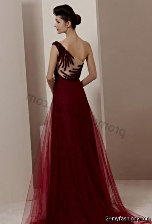long dark red prom dresses with sleeves 2016-2017   B2B ...