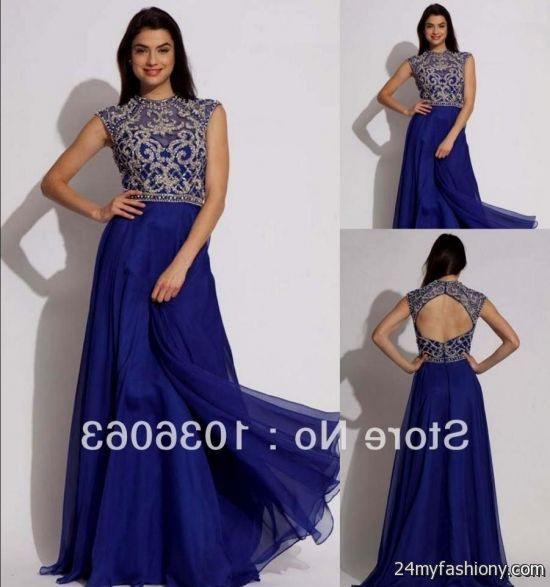 long dresses with short sleeves for prom 2016-2017 » B2B Fashion