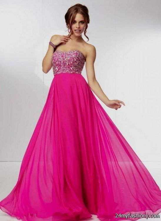 Images of Pink Prom Dresses - Reikian