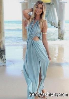 Long Light Dresses