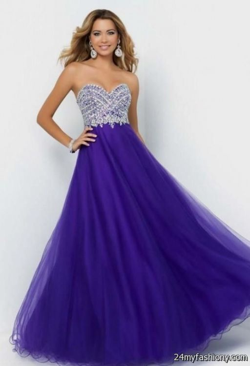 long prom dresses purple 2016-2017 » B2B Fashion