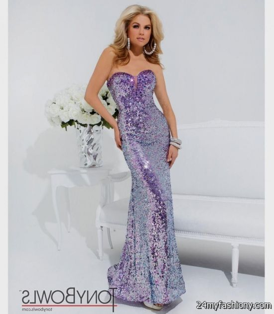 Prom Dresses 2018 Long Purple 79