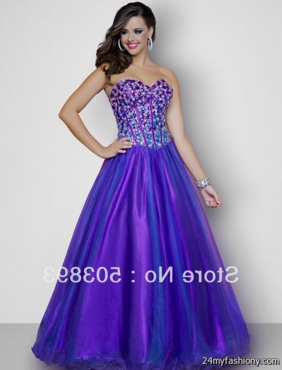 Purple Prom Dresses Long - Ocodea.com