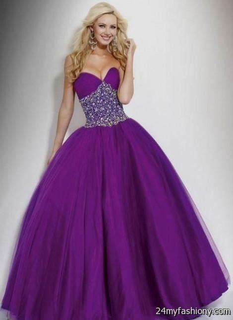 long purple prom dresses under 100 2016-2017 » B2B Fashion