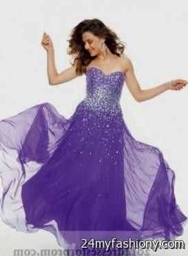 long purple sparkly prom dress 2016-2017 » B2B Fashion