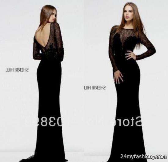 Luxury Black Prom Dress Long Model - Dress Ideas For Prom ...