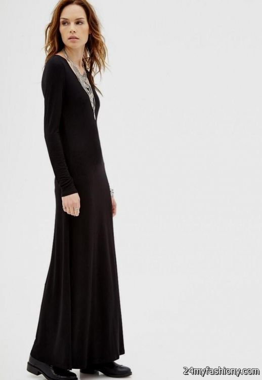 long sleeve maxi dress forever 21 20162017 b2b fashion