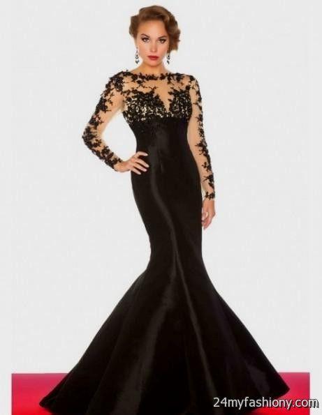 Long Sleeve Mermaid Dresses
