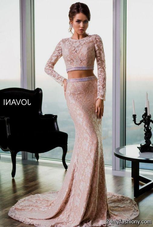 long sleeve prom dresses tumblr 2016-2017 | B2B Fashion