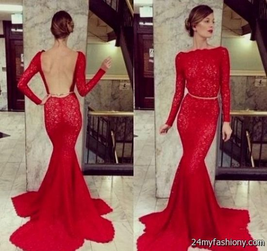 9d138dc3f6bc23 Customize your dress and stand out from the crowd. Look your best in these  sexy prom dresses! Pin it. Like! You can share these long sleeve red lace  ...