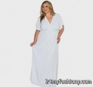 long sleeve white maxi dress plus size 2016-2017 » B2B Fashion