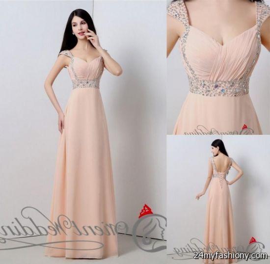 Long Tan Lace Bridesmaid Dresses - Missy Dress