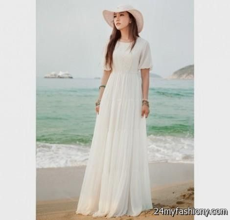 Casual maxi dress with sleeves