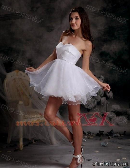 long white dama dresses for quinceanera 2016-2017 » B2B Fashion