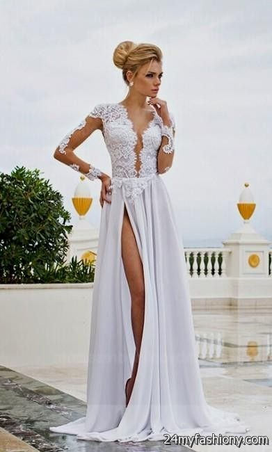 white prom dresses with sleeves wwwpixsharkcom
