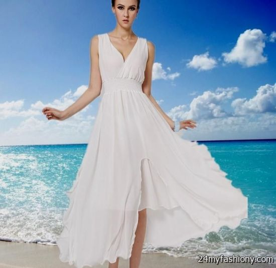 long white summer beach dresses 2016-2017 » B2B Fashion