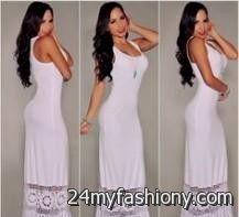 long white summer dresses 2016-2017 » B2B Fashion