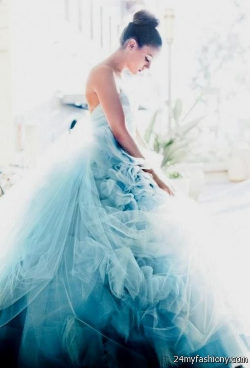 Looking for an ice blue wedding dress 2016 2017 b2b fashion for Ice blue wedding dress