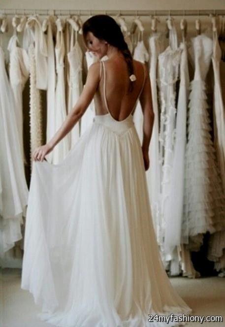low back beach wedding dresses 2016-2017 » B2B Fashion