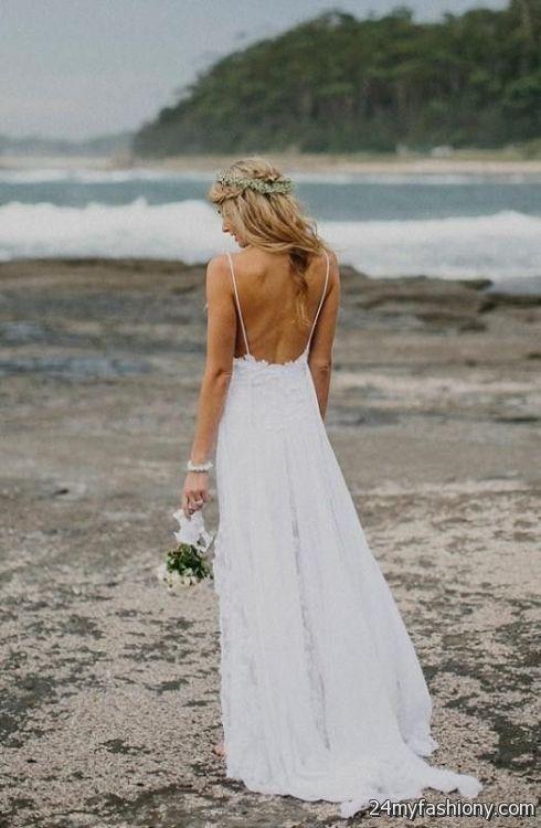 low back beach wedding dresses 2016-2017 | B2B Fashion