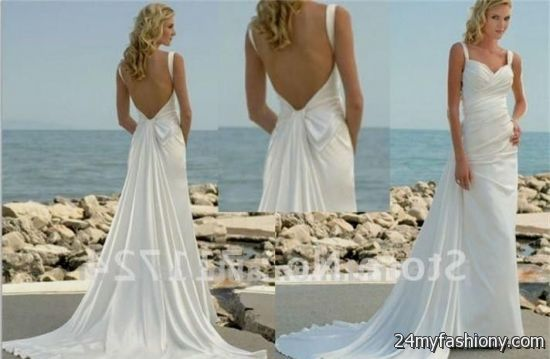 Low Back Beach Wedding Dresses - Wedding Dresses Thumbmediagroup.Com